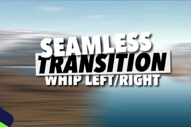 #1 SEAMLESS. Whip Left/Right. TRANSITION