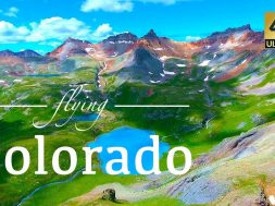 Colorado By Drone – Telluride, Aspen, Ice Lakes, Blue Lakes Trail, & More 4K Travel Footage