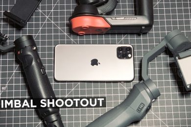 Does the iPhone 11 Ultra Wide Lens Work with GIMBALS?