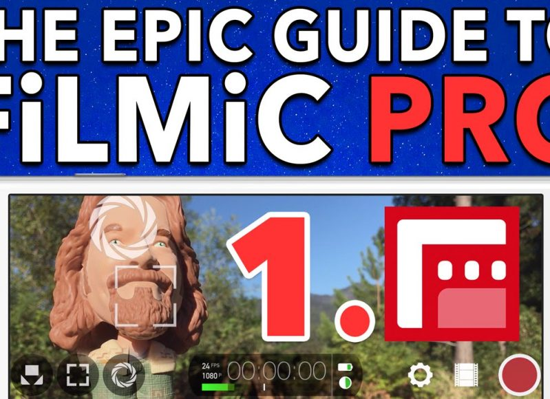Ep. 1 Basic Operations in FiLMiC Pro