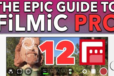 Ep. 12 Saving Custom Presets – Epic Guide to FiLMiC Pro