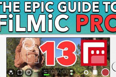 Ep. 13 Hardware Settings (Moondog Anamorphic & Lens Adaptors) – Epic Guide to FiLMiC Pro