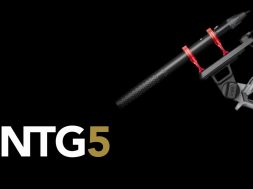 Features and Specifications of the NTG5 Broadcast Shotgun Microphone