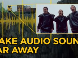 How to make audio sound far away | Audio Tips for Filmmaking