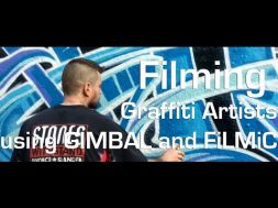 London graffiti artists – shot on iPhone using Filmic Pro