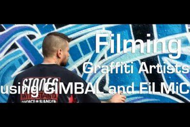 London graffiti artists – shot on iPhone using Filmic Pro