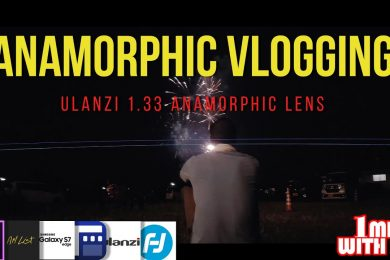 Mobile FilmMaking Vlogging With The Ulanzi Anamorphic Lens