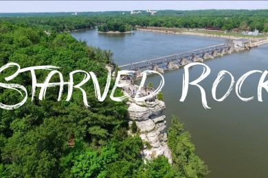 Starved Rock State Park by DJI