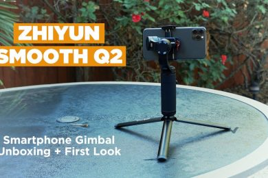 Zhiyun Smooth Q2 Gimbal | FIRST LOOK!