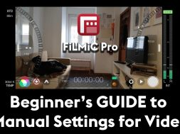 How to Set Manual Controls for Video (FiLMiC Pro)