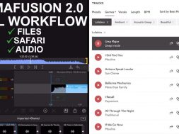 LumaFusion 2.0 FULL Editing Workflow- Files, Split Screen, Adding Music