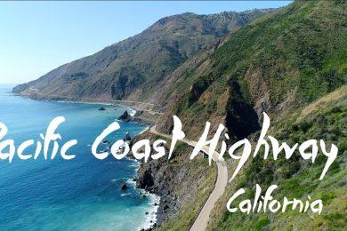 Pacific Coast Highway 1   4K Drone Video