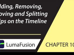 10-2 Basics: Adding, Removing, Moving and Splitting Clips in LumaFusion
