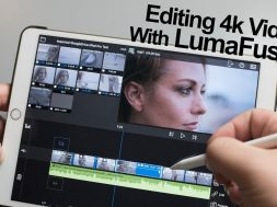 Editing 4k video with LumaFusion on the iPad Pro – Part 1