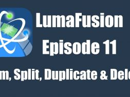 Ep 11 Editing: Trimming, Splitting, Duplicating and Deleting Clips