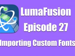 Ep 27 Titles: Importing Custom Fonts