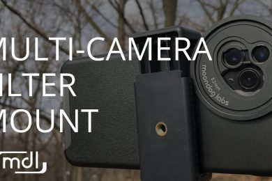 Multi-Camera Filter Mount from Moondog Labs