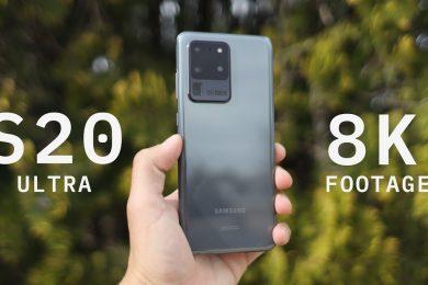 Samsung Galaxy S20 Ultra 8K Test Footage – Baja