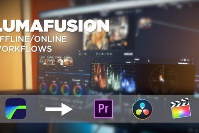 Edit on iPad w/LUMAFUSION… Then FINISH in Resolve or Premiere Pro!