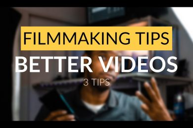 3 ways to BETTER VIDEOS NOW! | Mobile Filmmaking Tips