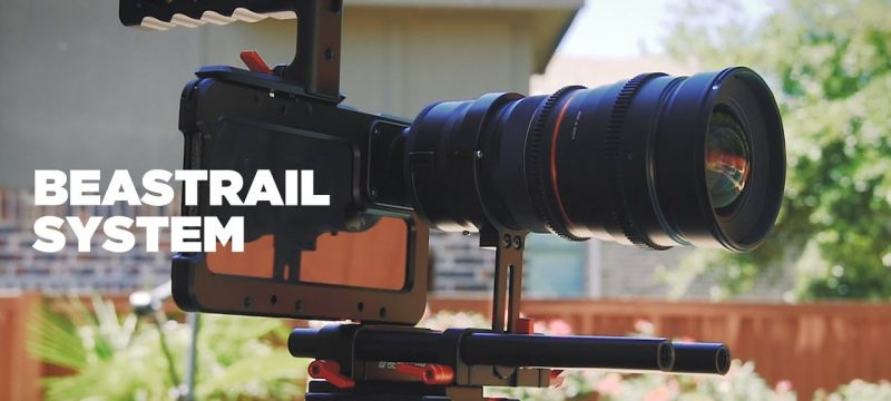Easily Use CINE Lenses with an iPhone | BeastRail
