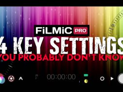 4 KEY Filmic Pro Settings You Might Not Know