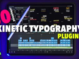 FREE Lumafusion 2.3 Kinetic Typography Plugins