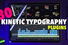 FREE Lumafusion 2.3 Kinetic Typography Plugins