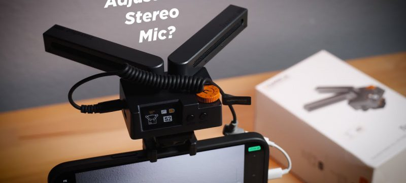 Unique + Affordable STEREO MIC | Comica Traxshot Review