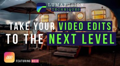 Let Me Show You How To Create A Title Sequence Using #Mojo and #LumaFusion For #iPad