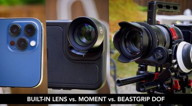 iPhone Lens DOF Comparisons (with Moment & Beastgrip!)