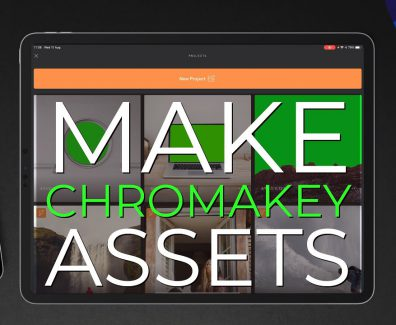 Watch a Video Editor Turn Still Images Into Chromakey Video Assets Using LumaFusion